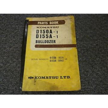 Komatsu Moldova, Republic of  D150A-1 D155A-1 Bulldozer Dozer Parts Catalog Manual