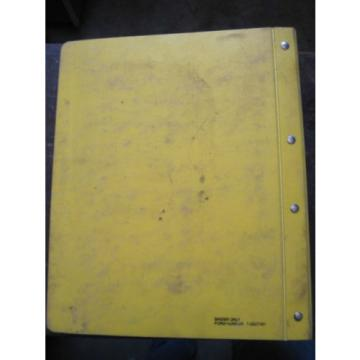 OEM Barbados  KOMATSU Excavator PC300-2 PC300LC-2 PARTS Catalog Manual Book