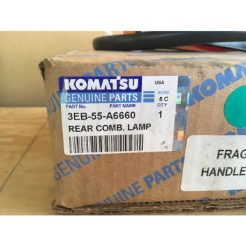 NIB Honduras  Komatsu Rear Combination Lamp (Rear Tail Light) P/N 3EB-55-A6660