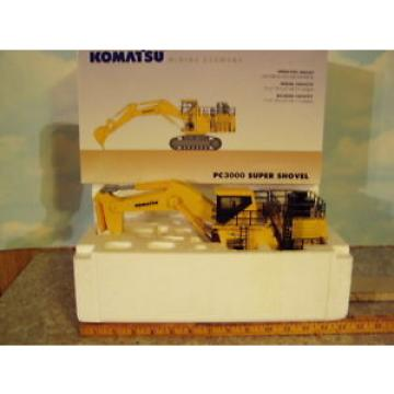 Komatsu Malta  PC3000-6 Super Shovel 1/50 NIB First Gear/NZG