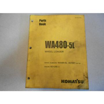 KOMATSU, Niger  WA 480-5L Wheel Loader Parts Book