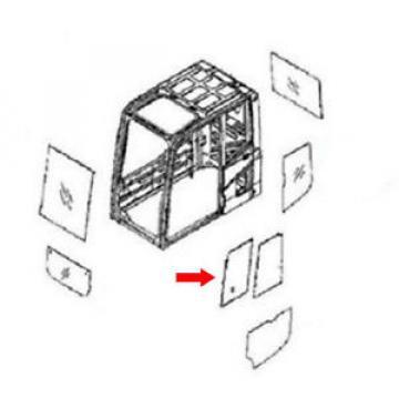 20Y-54-52850 Bulgaria Front Door Slide Glass for Komatsu Excavator PC240LC-7K PC240NLC-7K