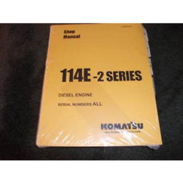 Komatsu Gibraltar  114E 2 series diesel engine shop manual