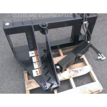 NEW United States of America  HD TREE & POST PULLER ATTACHMENT Skid Steer Loader Ripper Volvo JCB Komatsu