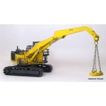 JOAL Egypt  244 Komatsu PC1100LC-6 with Crane Magnet 1/50 Scale New Box Sealed