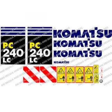 KOMATSU Barbuda  PC240LC DIGGER DECAL STICKER SET