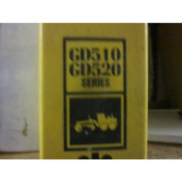 Komatsu Oman  GD510 GD520 Series Motor Grader Repair Shop Manual