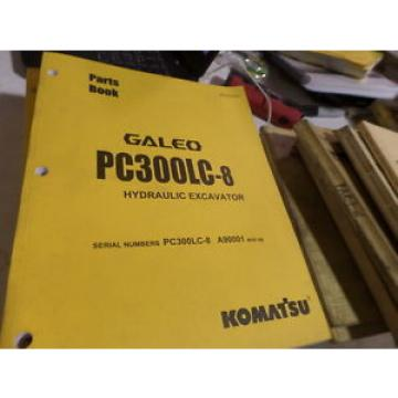 KOMATSU Egypt  PC300LC-8 HYDRAULIC EXCAVATOR PARTS BOOK / MANUAL S/N A90001 & UP