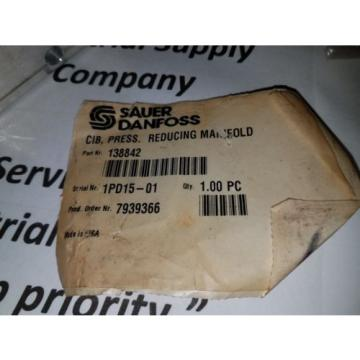 Sauer Danfoss Reducing Manifold NEW