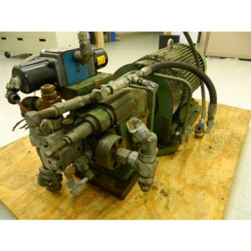 Hydraulic Slovenia  Power Pack w/ Lincoln Motor 20 HP 1750 RPM 220 3 HP w/ Vickers Valve