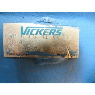 VICKERS Oman HYDRAULIC PUMP PVB10 LS 41 CC 12 S124 PVB10LS41CC12S124 02-346011 042401