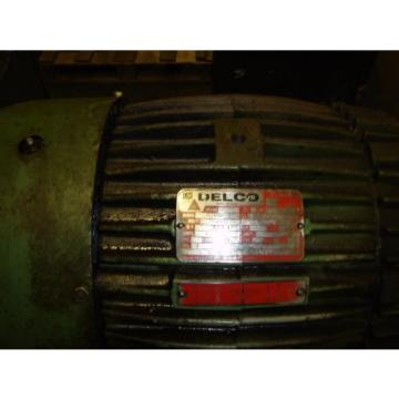 Vickers Oman V201P11P Hydraulic Power Unit for Compactor 75HP 15 GPM