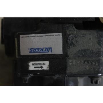 Origin Brazil VICKERS HYDRAULIC PUMP PVE19RW-Q1830-1 0475402