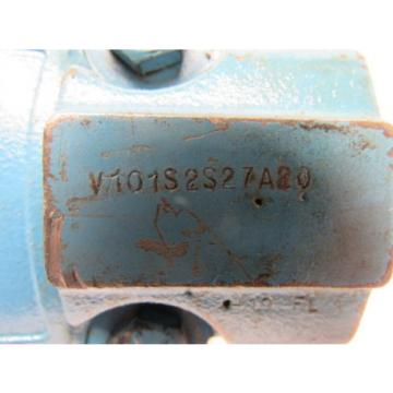 Vickers Liberia V101S2S27A20 Single Vane Hydraulic Pump 1#034; Inlet 1/2#034; Outlet