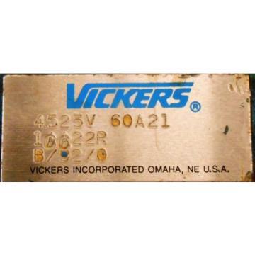 VICKERS, Guinea VANE PUMP, 1CC22R, 4525V60A21, L-2, B/92/0