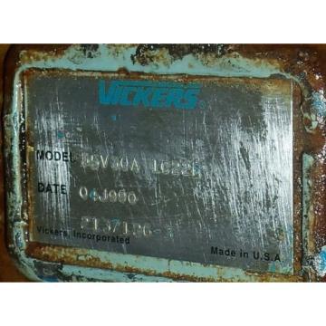 VICKERS Barbados 35V30A 1C22R LOW NOISE VANE PUMP