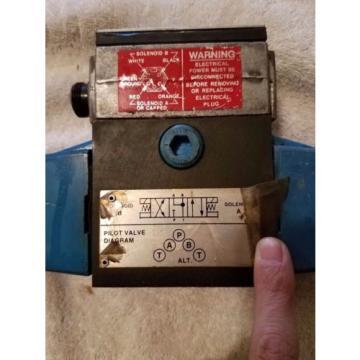 Vickers Liberia Hydraulic Directional Valve PA5 DG4 S4LW-016C-B-60; #880029