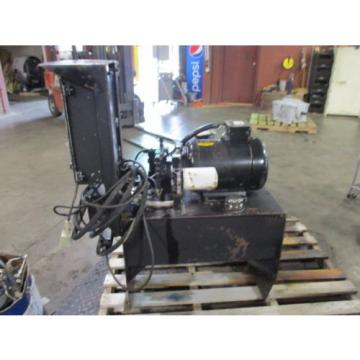 VICKERS United States of America  HYDRAULIC UNIT UNIT W/BALDOR 10HP MOTOR AND CONTROL UNIT #3251055J USED