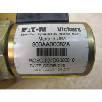 EATON Belarus / VICKERS,  2 WAY NC SOLENOID VALVE,  SV1-16-C-12T-24DG,  3000 PSI