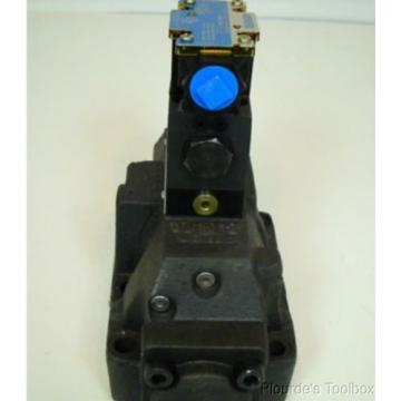 origin United States of America  Vickers 4/2 Directional Hydraulic Solenoid Valve, DG4V-3-2A-M-FW-B6-60