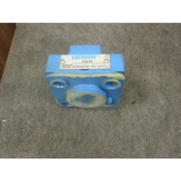 Origin United States of America  VICKERS HYDRAULIC VALVE # CVC25D1S210