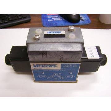 Vickers Niger  Hydraulic Directional Control Solenoid Valve DG4V4-016C-M-PBWL-BL4-10