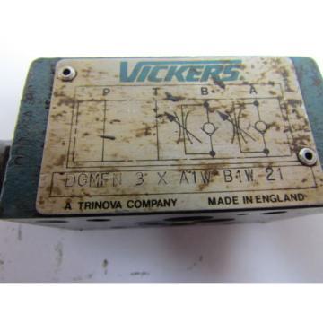 Vickers Cuba DGMFN-3-X-A1W-B1W-21 Flow Control Hydraulic Valve