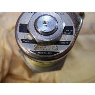 Origin Iran  OLD STOCK VICKERS NC SV2-20-C-0-12DS 12V-DC HYDRAULIC SOLENOID VALVE SF20