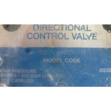 Vickers Honduras  DG17V4-010N-10, 02-356395, Hydraulic Directional Valve origin Old Stock