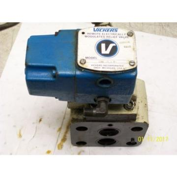 VICKERS UnitedStatesofAmerica REMOTE ELECTRICALLY MODULATED RELIEF VALVE CGE02321 , CGE 02 3 21