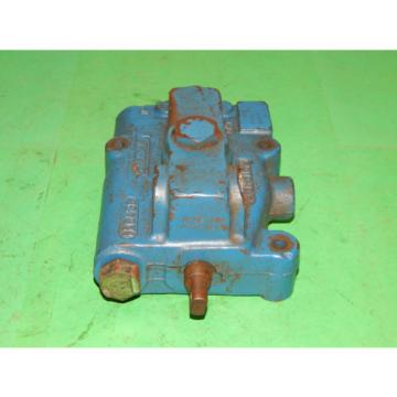 Vickers Burma  CMD12 P1020D010 Hydraulic Directional Control Valve