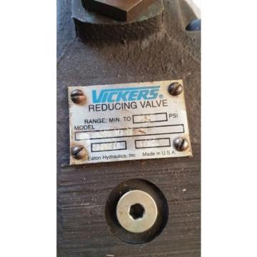 origin Oman  Vickers Eaton Hydraulic Reducing Valve F3 XG 10 3F 30 / 590397 Made in USA