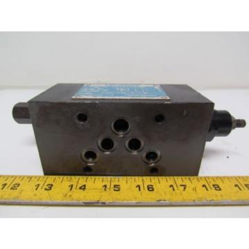 Vickers United States of America  DGMX2-5-PP-BW-S-30 SystemStak Reversible Hydraulic Reducing Valve
