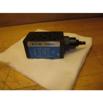 Eaton Ethiopia Vickers DGMFN-3-Y-B1W-41 Hydraulic Flow Control Valve NOS 02-138526