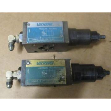 Lot Mauritius  of 2 VICKERS DGMX2-3-PP-CW-S-40 HYDRAULIC PRESSURE REDUCING VALVE