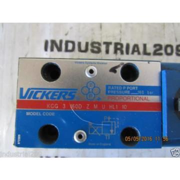 VICKERS SolomonIs PROPORTIONAL VALVE KCG3160D ZMUHL110 Origin