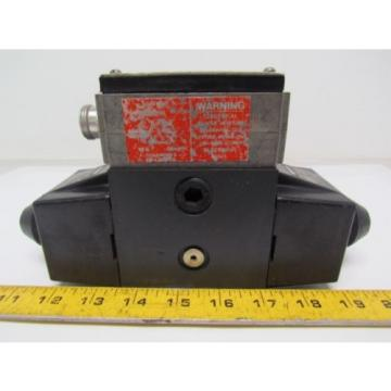 Vickers Netheriands 02-119493 DG454LW 012 C B 60 Hydraulic Directional Control Valve