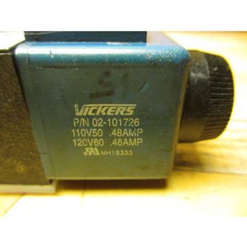 Vickers Liechtenstein DG4V-3S-2A-M-U-H5-60 Hydraulic Valve 02-109030 02-101726 120V Coil