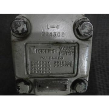 Vickers Luxembourg 224309 Vane Pump, L-4, Good Condition