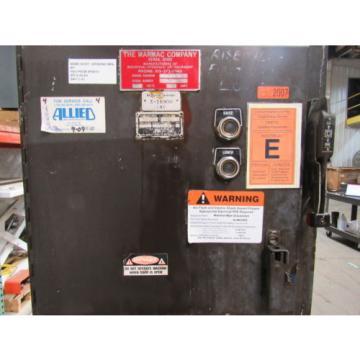 VICKERS/ France MARMAC 85 GAL Hydraulic Power Unit 7-1/2HP 460V 3Ph W/ 25V Pump Tested