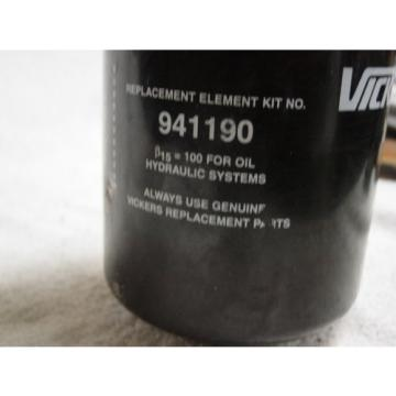 Vickers Oman FILTER HOUSING by-pass Valve ORFS-60F-3M 10  and filter 941190 Origin