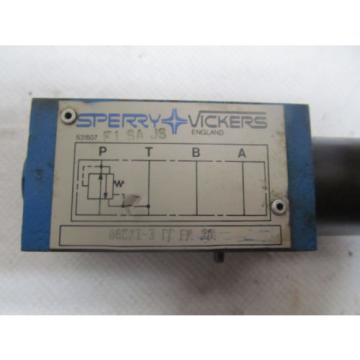 Sperry Luxembourg Vickers Hydraulic Check Valve DGMXI-3 PP FM 20