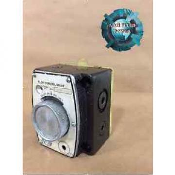 VICKERS Ethiopia FCG02150050 FLOW CONTROL VALVE Origin SURPLUS FCG 02 1500 50