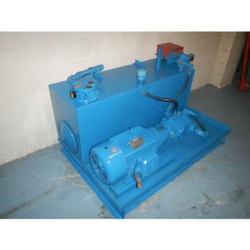 Tokimec/Vickers Vietnam  PVQ63C2RFSIS2-CS2-11 20HP 30 GPM Hydraulic Power Unit