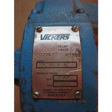 Vickers Rep. Relief Valve CS 06 F 50 572267