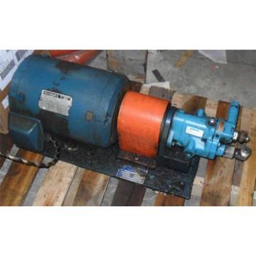 #250 Reunion Reliance AC Motor 215T P21G12D-LY 10-HP 230/460V + Vickers PVB5-RSY-21 Pump