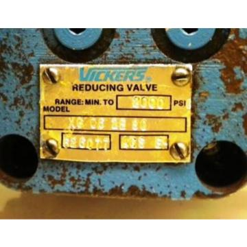 VICKERS Gibraltar  REDUCING VALVE XG 06 2B30- 150-2000 PSI
