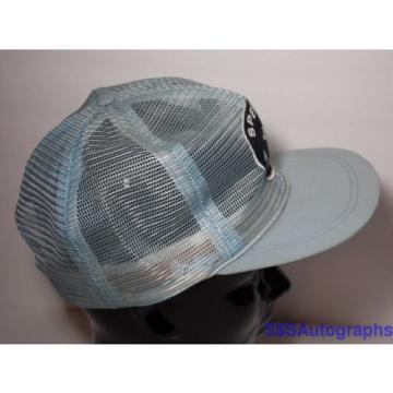 Vintage Botswana 1980s SPERRY VICKERS Hydraulic Systems Advertising Snapback Mesh Hat Cap