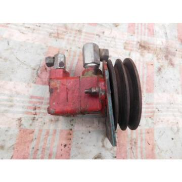 Vickers Solomon Is  Hydraulic Vane Pump V10 1P 3P 1C 20 Working Pump  Antique Tractor
