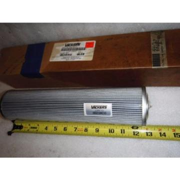 Vickers Netheriands  22167 Hydraulic Filter Element V6021B4C10 10 MICRON, 13#034;
